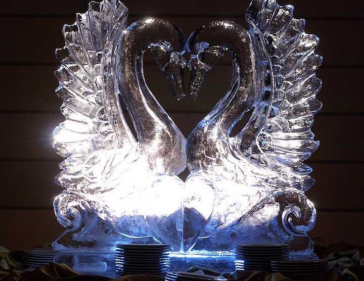 jégszobor esküvőre