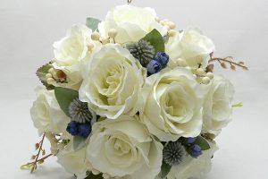 selyemvirág menyasszonyi csokrok